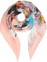 Kenzo Pure Silk Printed Wrap