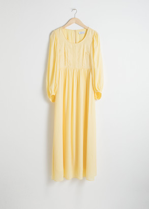 And other stories Billowy Prairie Maxi Dress