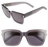 Saint Laurent Women's 'Bold' 54Mm Sunglasses - Opale Grey