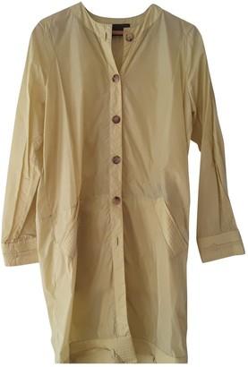 Loewe Yellow Trench Coat for Women