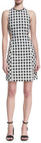 Rag & Bone Tahoe Sleeveless Checkered-Print Dress
