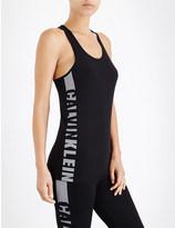 Calvin Klein Seamless logo-print jersey pyjama vest top