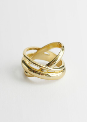 And other stories Multi Criss Cross Ring
