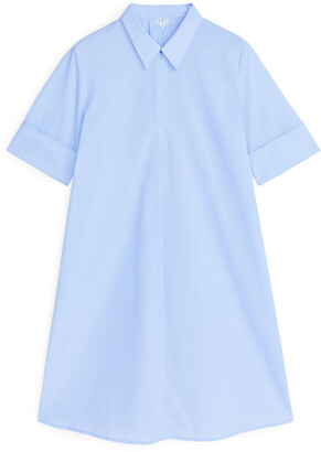 Arket A-Line Cotton Dress