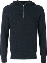 Maison Margiela hooded rib knit jumper - men - Wool - M