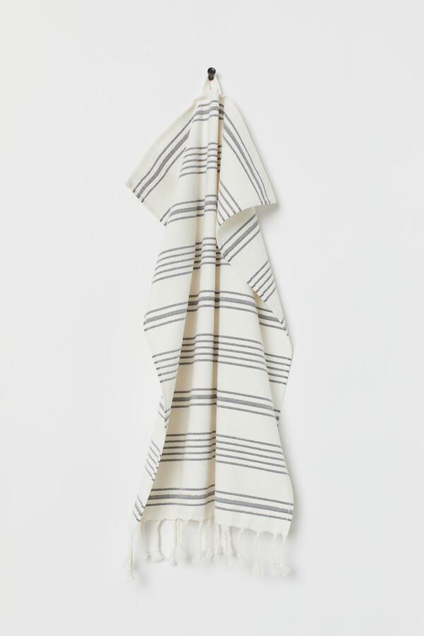 H&M Striped Hand Towel