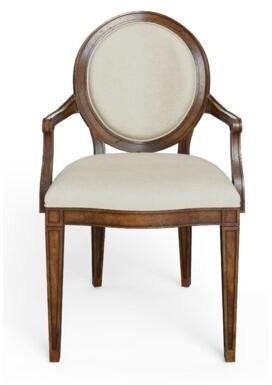 Stanley Furniture Hillside Upholstered Dining Chair Frame Color: Chestnut