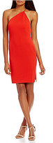 Calvin Klein One-Shoulder Sheath Dress