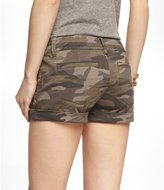 Express 2 1/2 Inch Camouflage Seamed Shorts