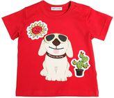 Dolce & Gabbana Mimmo Print Cotton Jersey T-Shirt