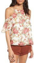 WAYF Women's Lantana Cold Shoulder Top
