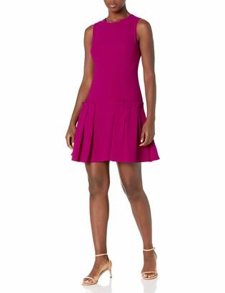 Brinker & Eliza Women's A Line Sheath Dress with Pleated Attachments