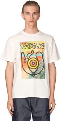 Loewe Eye Nature Cotton Jersey T-Shirt