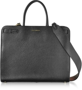 Coccinelle Clelia Black Leather Tote Bag