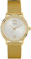 GUESS Women's Gold-Tone Stainless Steel Mesh Bracelet Watch 39mm U0766L2