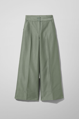 Weekday Naomi Trousers - Green