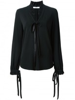 Givenchy ruffle collar blouse