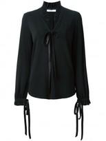 Givenchy ruffle collar blouse