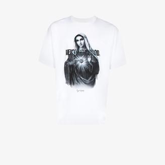 Neighborhood Addict printed graphic cotton T-shirt