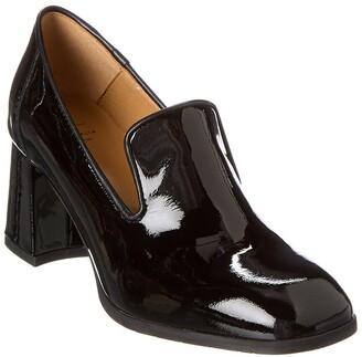 Aquatalia Marsha Weatherproof Patent & Leather Loafer