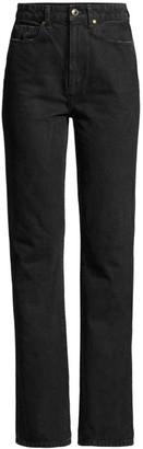 KHAITE Danielle High-Rise Stovepipe Jeans