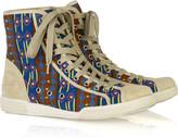 Marc by Marc Jacobs Navajo-print hi-top sneakers