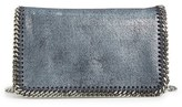 Stella McCartney 'Falabella' Shaggy Deer Crossbody Bag - Blue