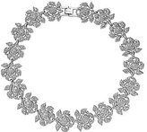Nina Camilia Floral Crystal Statement Necklace