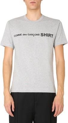 Comme des Garçons Shirt Crewneck Logo T-Shirt