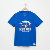 Roots Mens Blue Jays Banner T-shirt