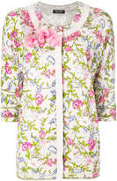 Twin-Set embellished floral print cardigan
