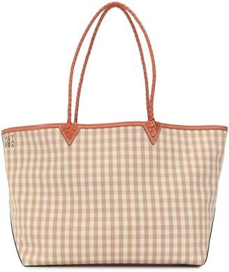 Altuzarra Check Print Tote Bag