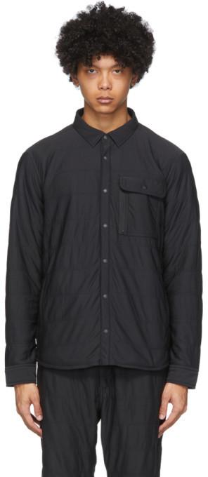Snow Peak Black Flexible Insulated Shirt