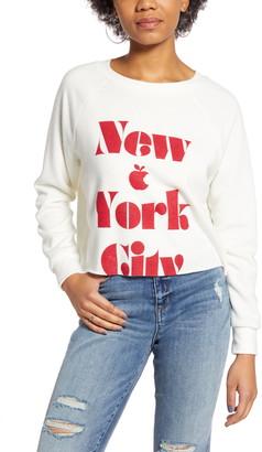 Project Social T NYC Cutoff Sweatshirt