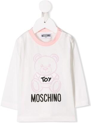 MOSCHINO BAMBINO logo T-shirt