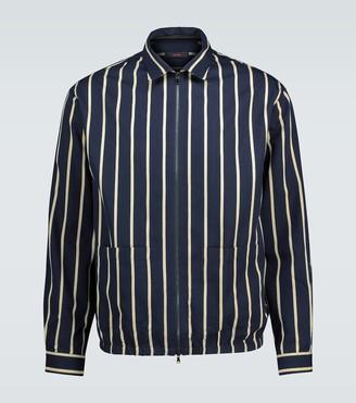 Thegigi Akiko striped bomber jacket