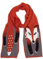 Yumi Fox Knit Scarf