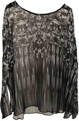 Faith Connexion Black Silk Top for Women