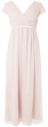 Dorothy Perkins Womens **Showcase Petite Blush 'Athena' Maxi Dress