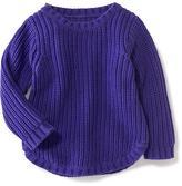 Old Navy Curved-Hem Sweater for Toddler