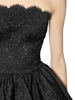 Dolce & Gabbana Cordonetto Cotton Lace Bustier Dress