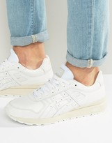 Asics Gt-Ii Premium Leather Sneakers In White H7l2l 0101