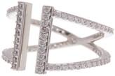 Nadri Parallel Pave CZ Ring