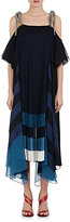 Chloé Women's Pleated Georgette Rope-Tie Gown
