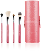 Sigma Beauty On-the-Go Travel Brush Set - Coral