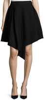 Finders Keepers Mies Asymmetrical Pleated Skirt