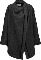 IRO Aklaspe asymmetric wool-blend coat
