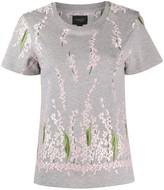 Giambattista Valli floral embroidered cotton T-shirt