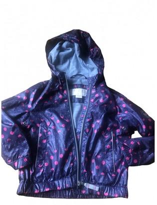 Michael Kors Blue Synthetic Jackets & Coats