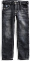 GUESS Slim-Fit Fleece Jeans (2-6x)